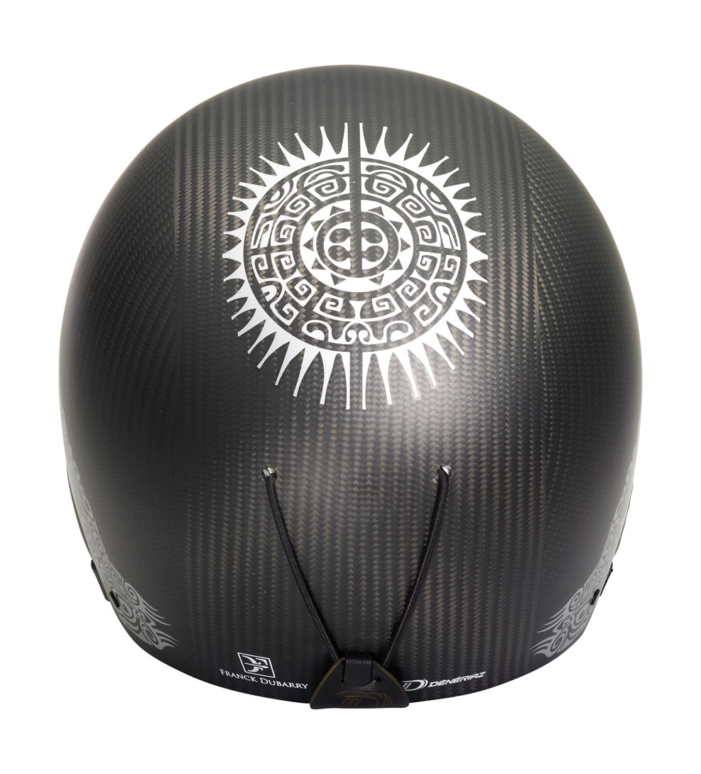 DUBARRY Helmet - Carbon silver - Dos