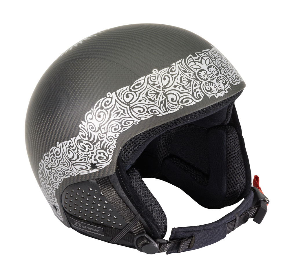DUBARRY Helmet - Carbon silver